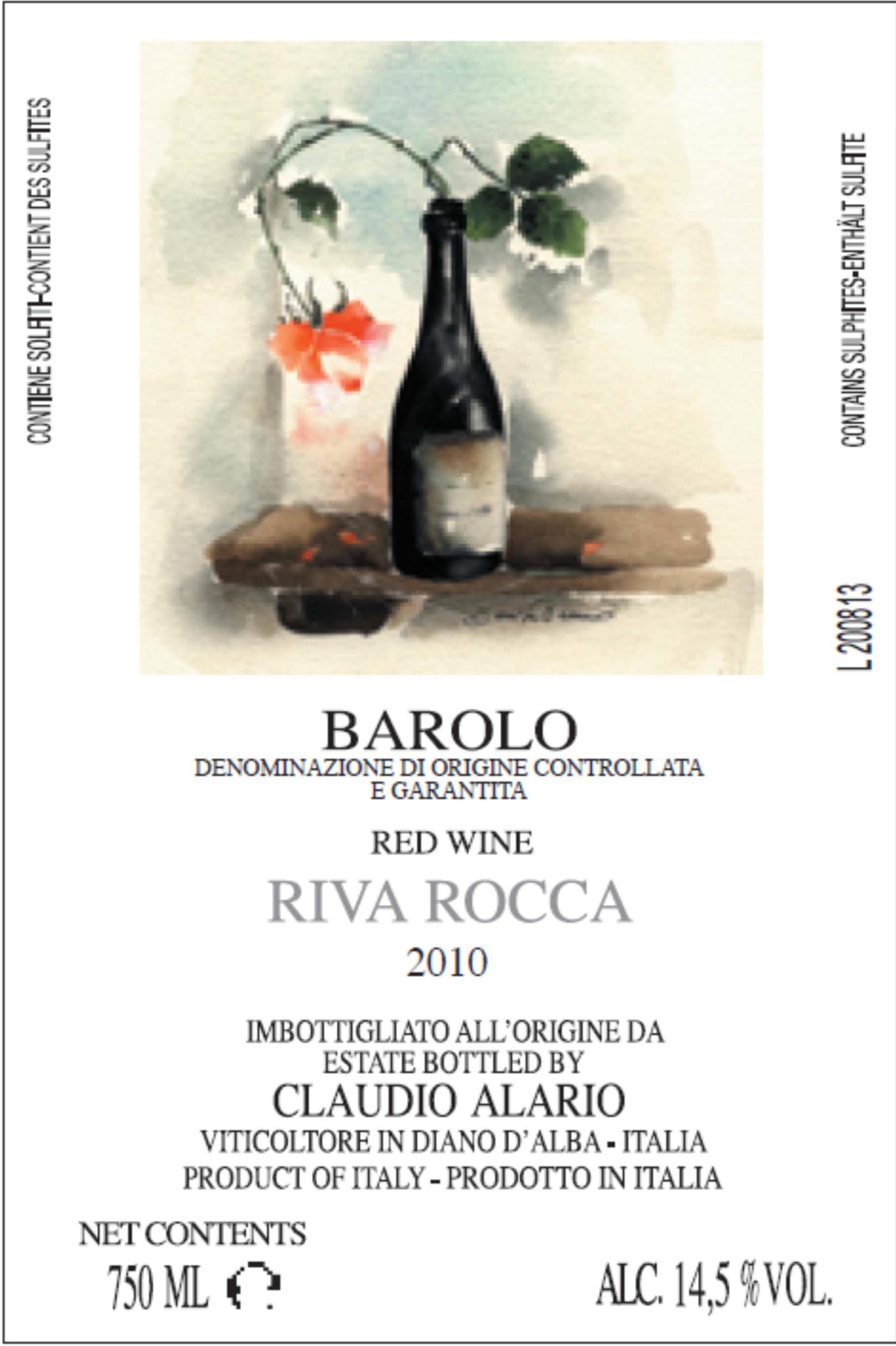 Alario Barolo Riva Rocca from 2016