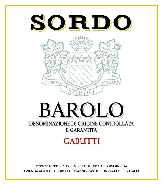 Sordo barolo bottled by Italy