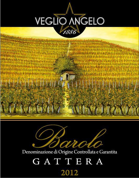 Angelo Veglio Barolo Gattera Year 2012 - 1 bottle left!