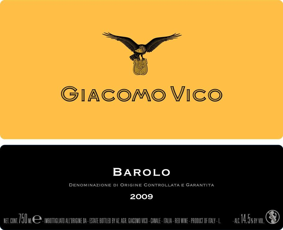 Giacomo Vico Barolo 2009