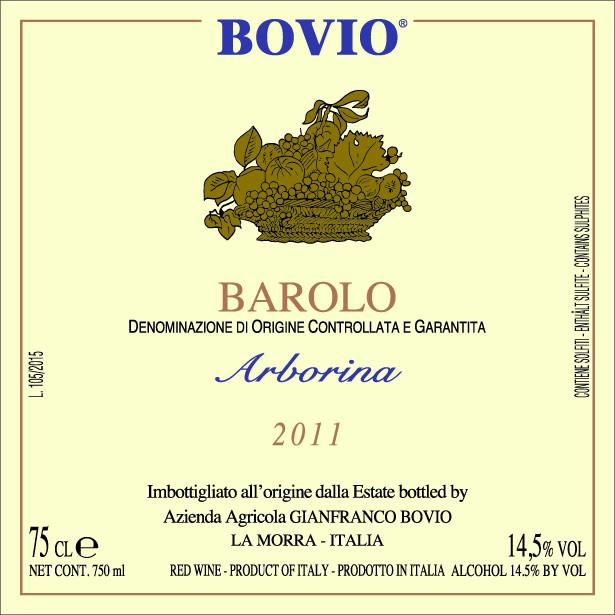 Bovio Barolo Arborina 2007